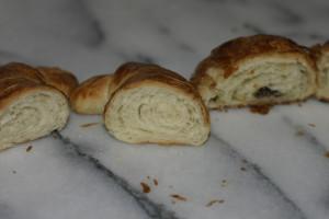 failed croissants, too dense