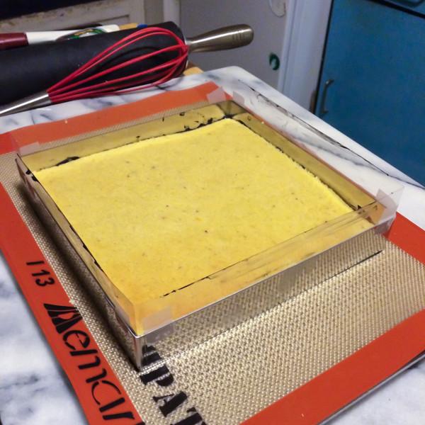 Conticini's Grand Cru Vanille - Biscuit layer